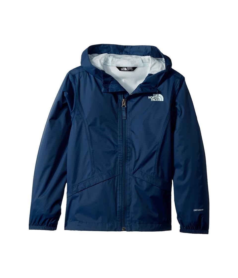The North Face Kids Zipline Rain Jacket (Little Kids/Big Kids) (Blue Wing Teal) Girl