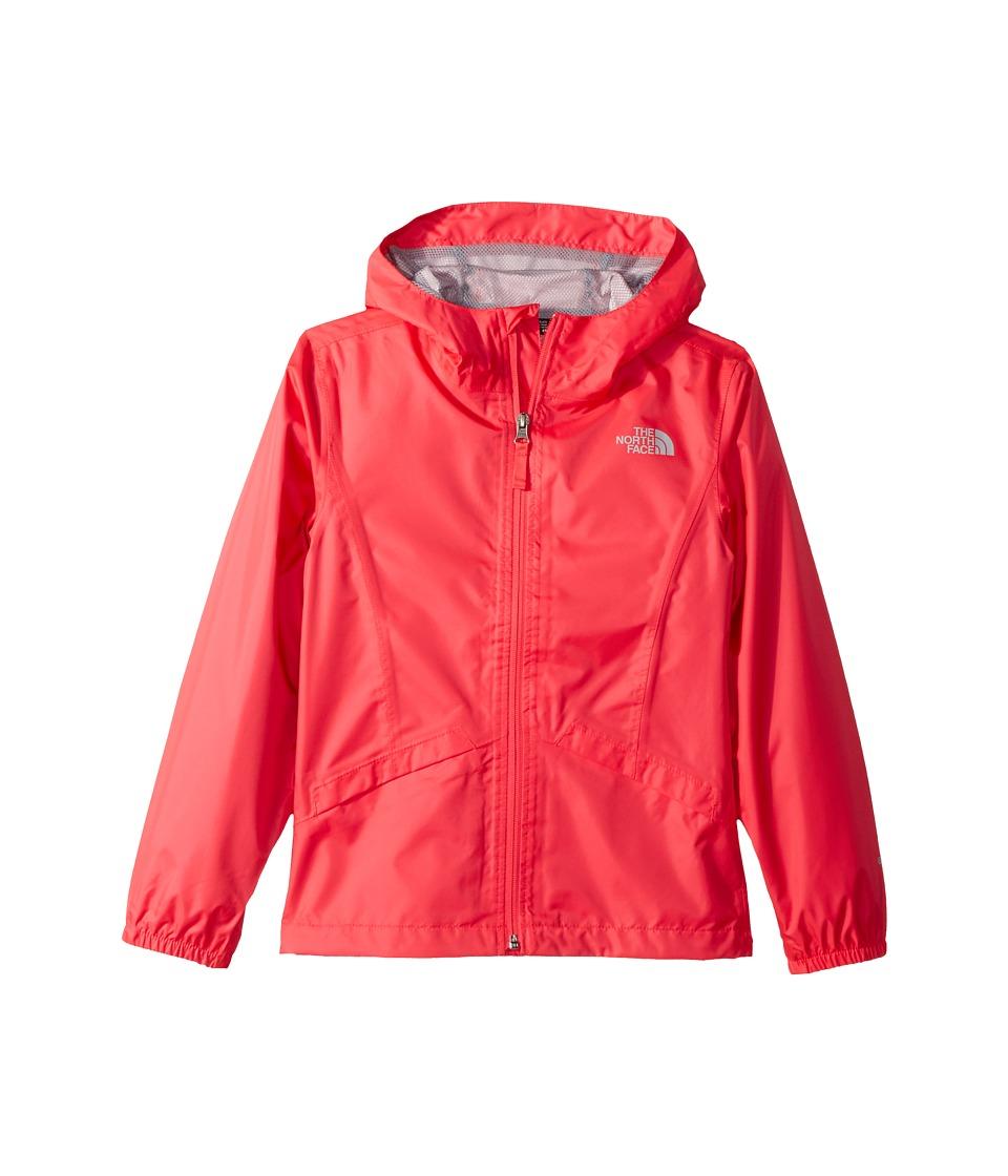 The North Face Kids Zipline Rain Jacket (Little Kids/Big Kids) (Atomic Pink) Girl