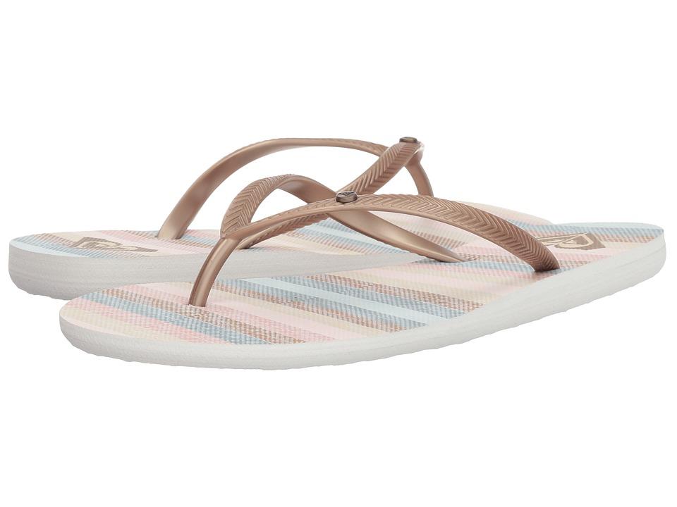 Roxy Bermuda II (Light Gold) Sandals