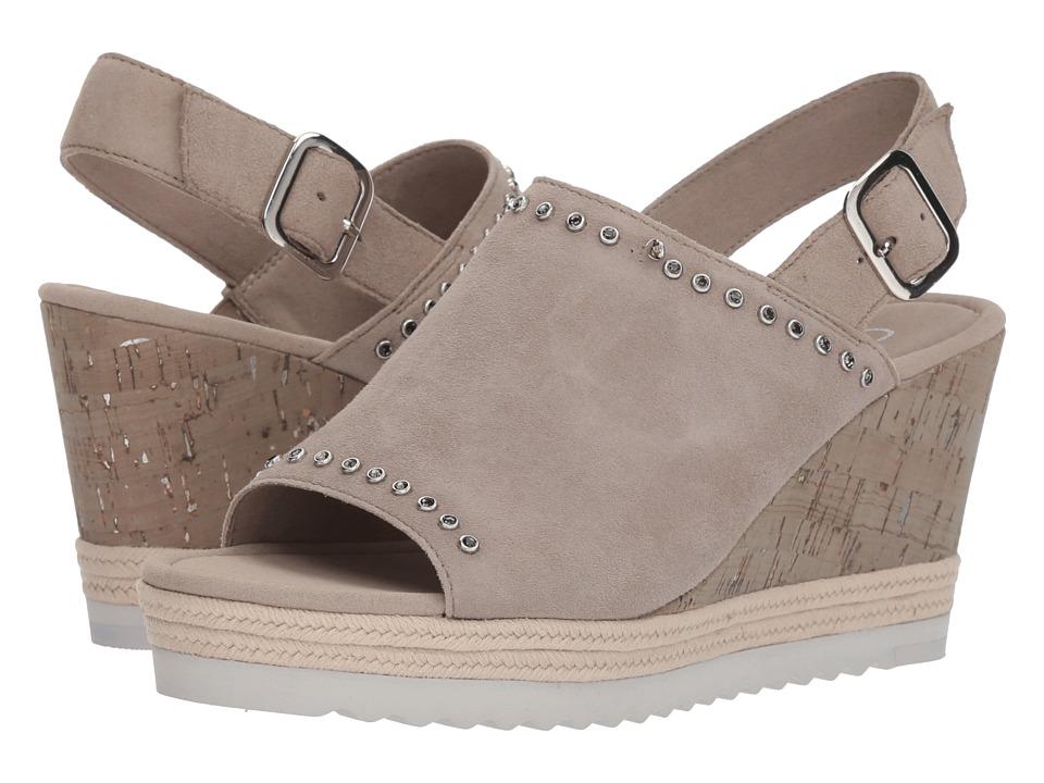 Gabor Gabor 85.791 (Beige Samtchevreau) Women's Clog/Mule Shoes