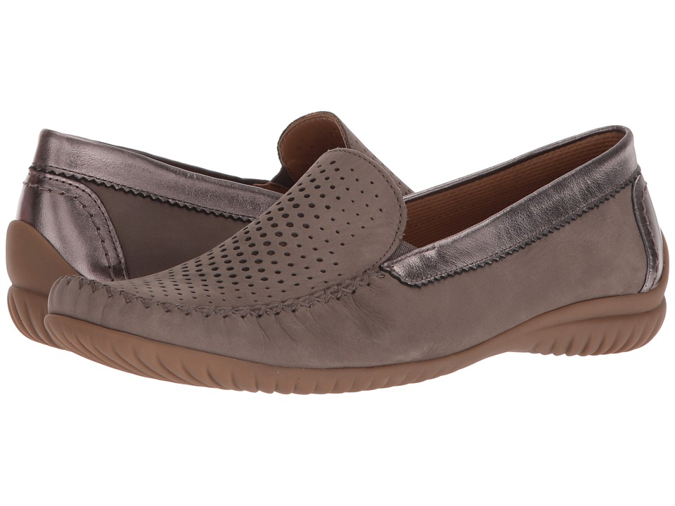Gabor - Gabor 86.094 (Taupe Nubuck Soft/Metallic) Womens Shoes