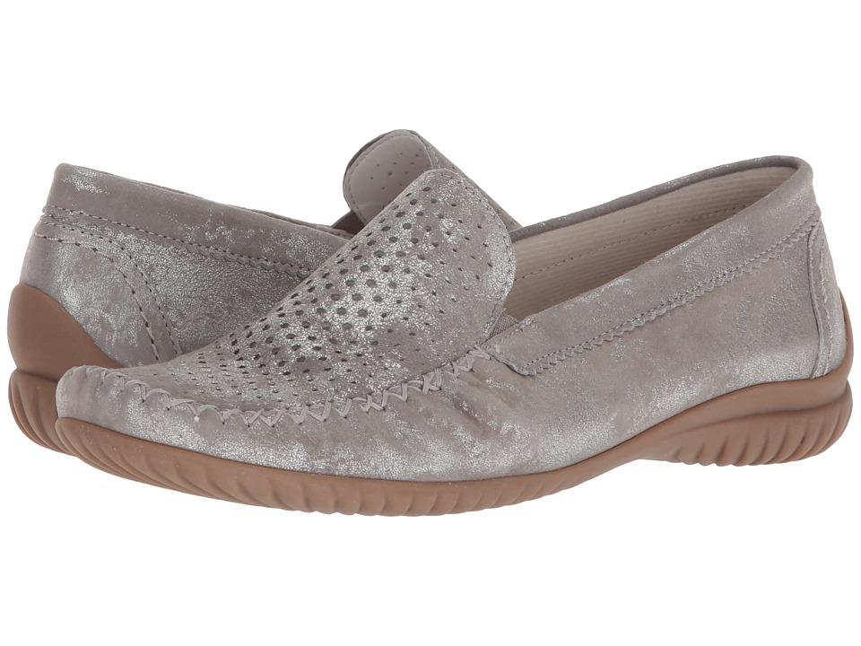 Gabor Gabor 86.094 (Silver Caruso Metallic) Women's Shoes