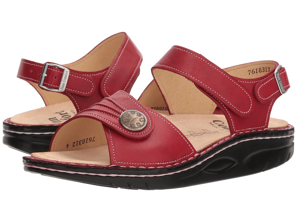 Finn Comfort - Sausalito (Red) Women's Sandals