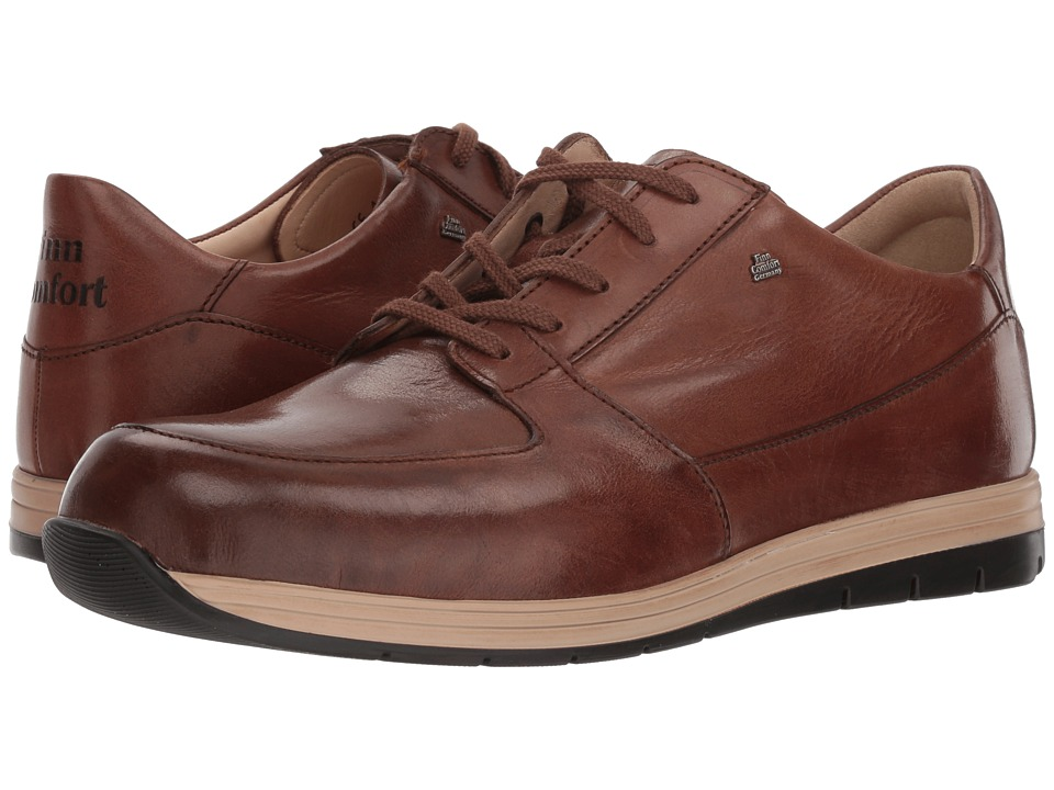 Finn Comfort Vernon (Brown) Men's Lace up casual Shoes
