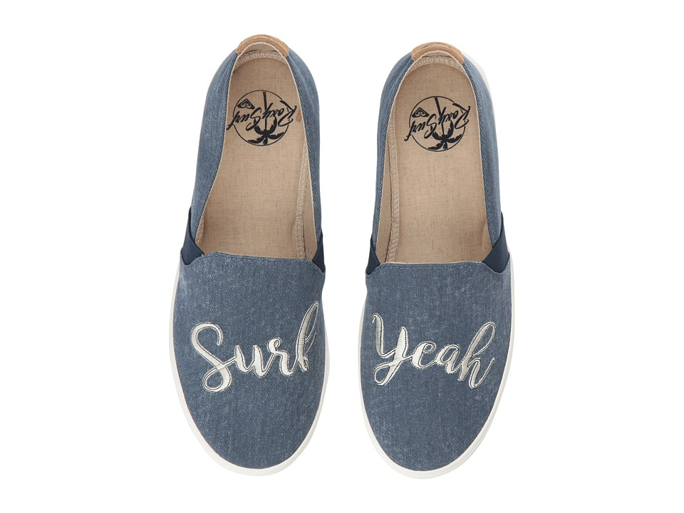 Roxy Atlanta II (Denim) Slip-On Shoes