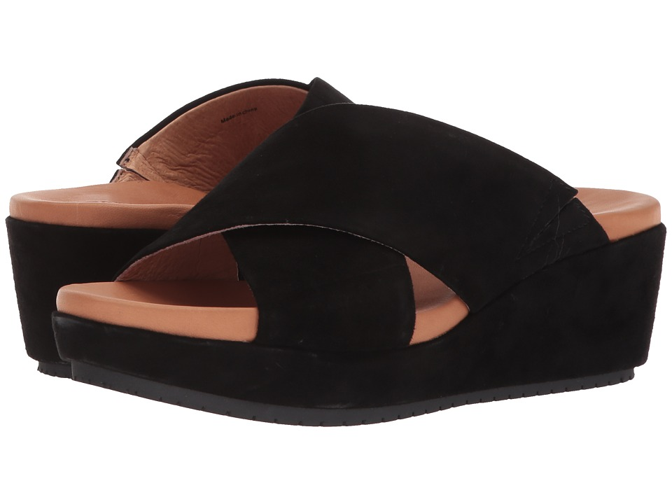 Gentle Souls by Kenneth Cole Mikenzie (Black Suede) Women's Shoes