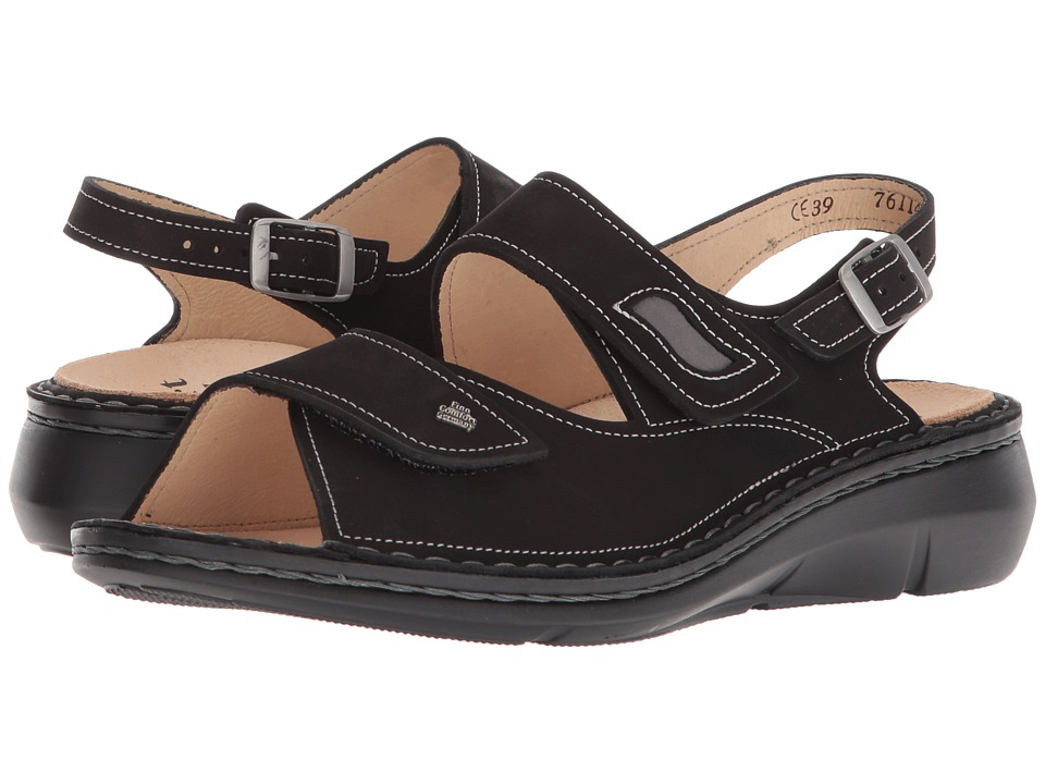 Finn Comfort - Sumatra (Black) Womens Sandals