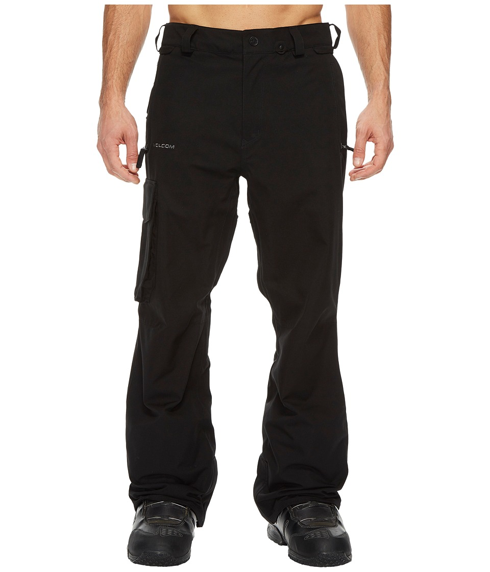 Volcom Snow - Ventral Pants (Black) Mens Casual Pants