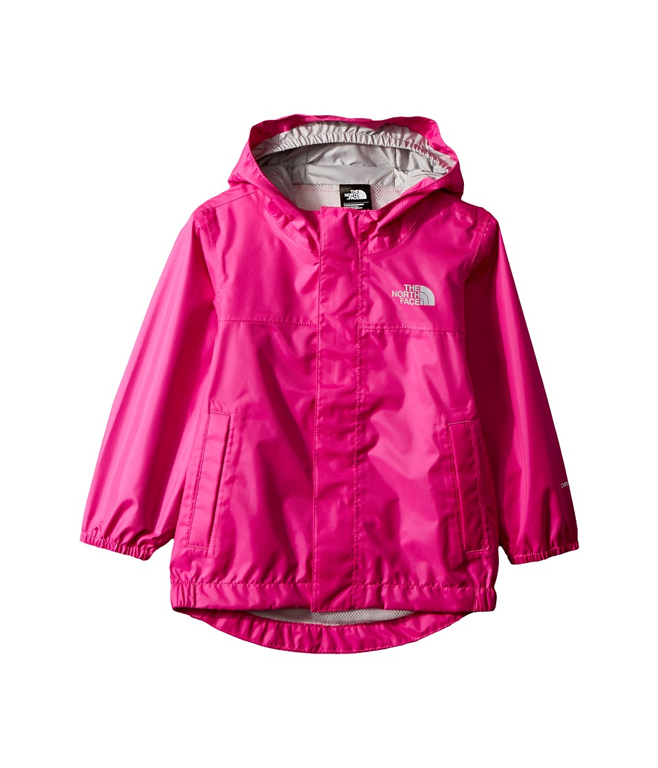 The North Face Kids Tailout Rain Jacket (Toddler) (Azalea Pink) Girl