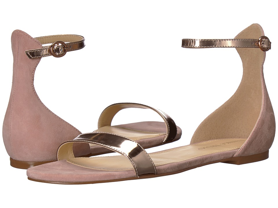 Ivanka Trump Camryn (Pink Multi Suede) Women's Dress Sandals