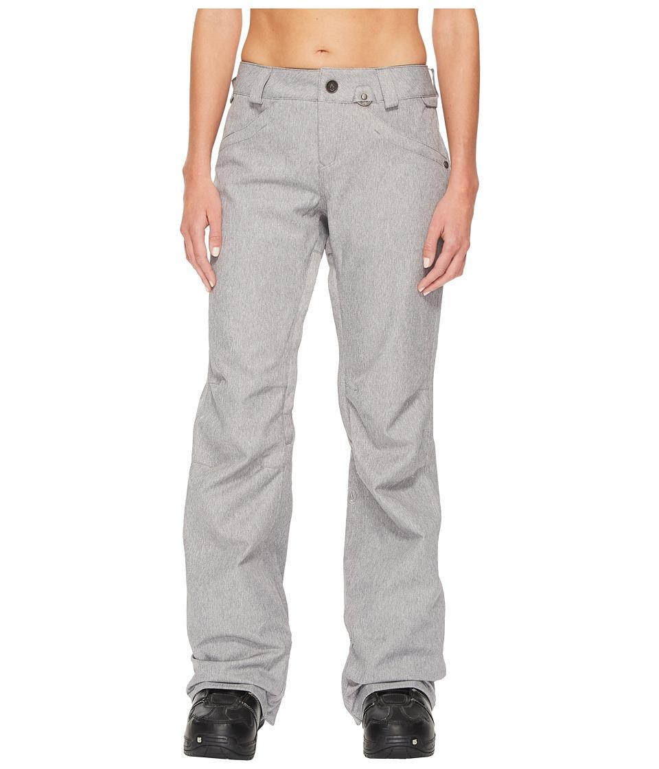Volcom Snow - Species Stretch Pants (Heather Grey) Women'...