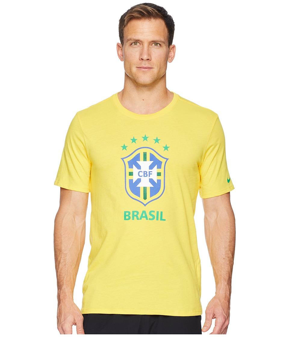 Nike CBF Tee Evergreen Crest (Midwest Gold) Men
