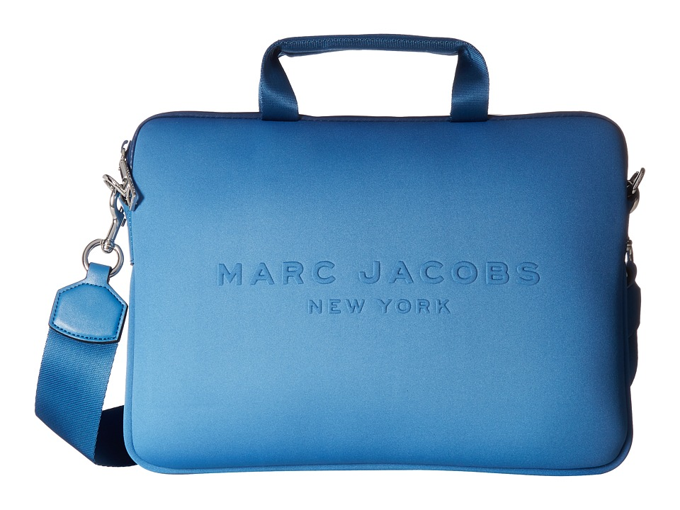 Marc Jacobs - Neoprene Tech 13 Commuter Case (Vintage Blue) Computer Bags