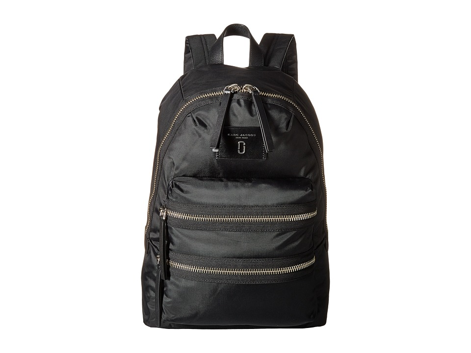 Marc Jacobs - Nylon Biker Backpack (Black 1) Backpack Bags