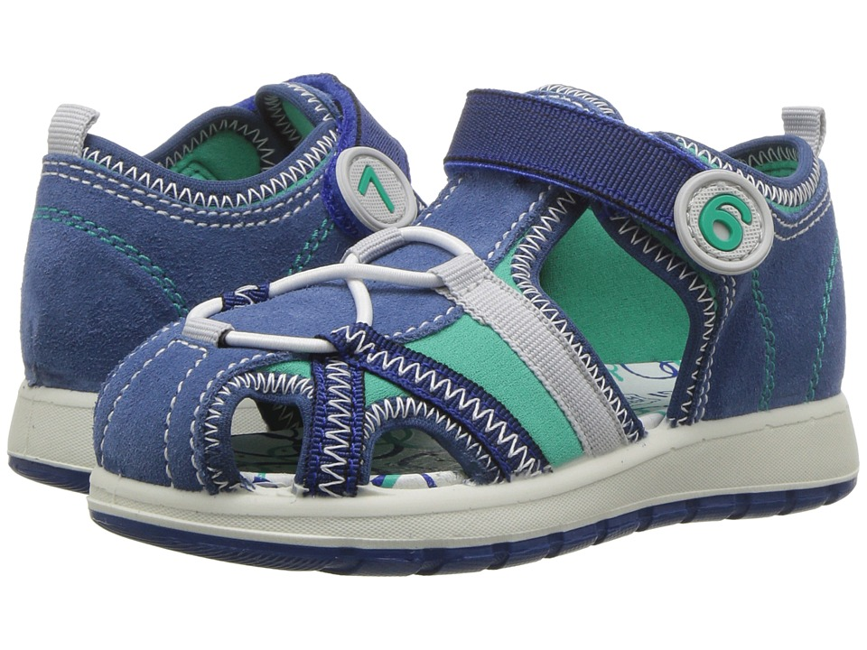 Primigi Kids - PAK 13642 (Infant/Toddler) (Blue/Acqua) Boys Shoes