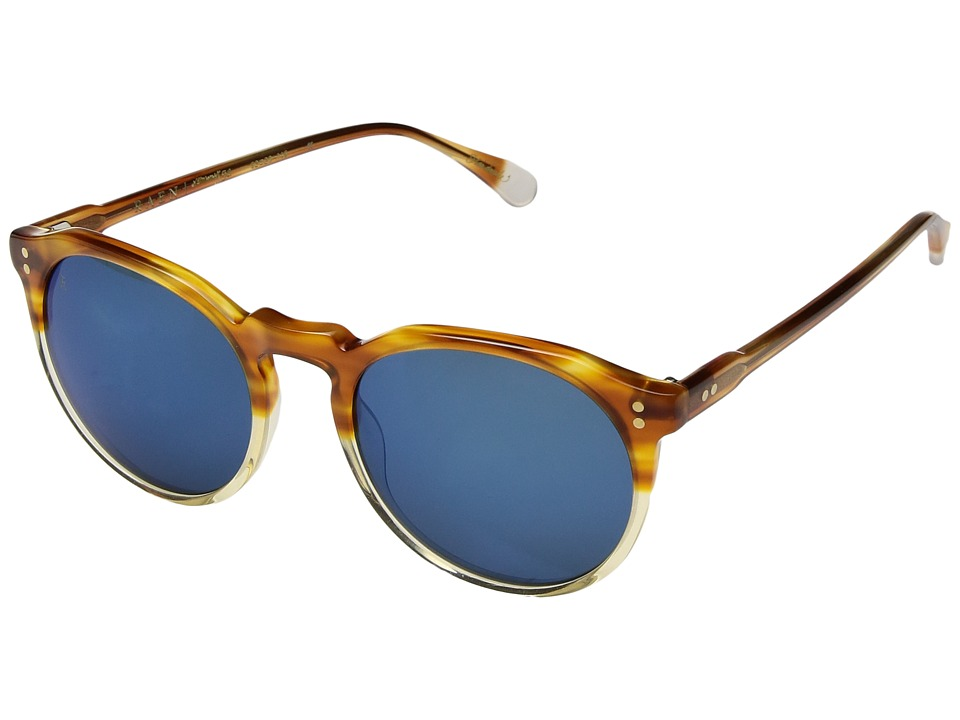 RAEN Optics - Remmy 52 (Honey Havana Mirror Smoke/Blue Mi...