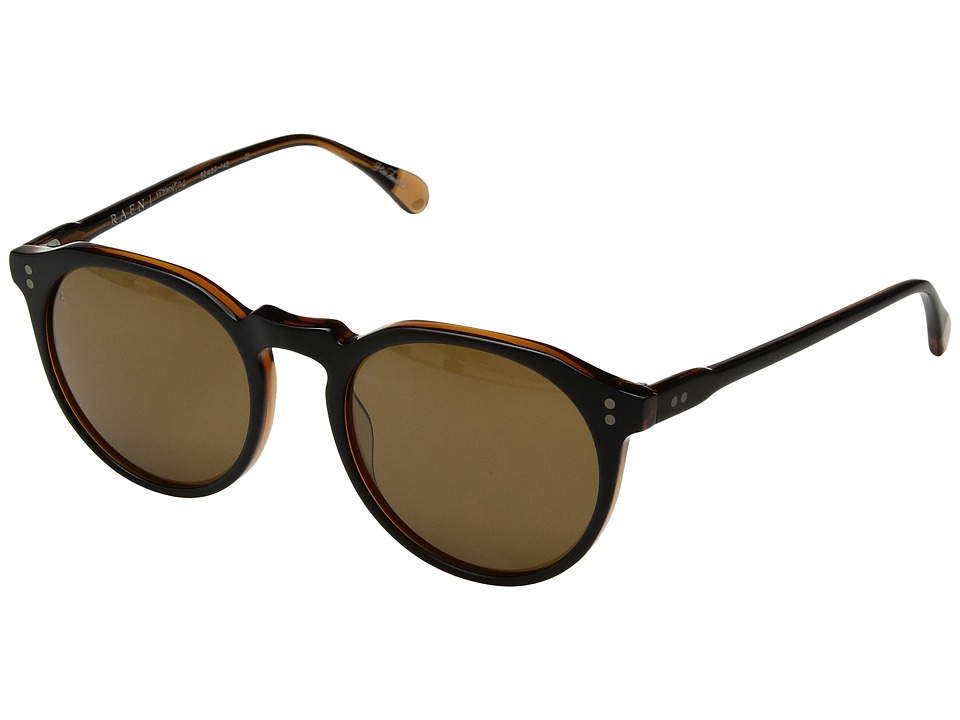 RAEN Optics - Remmy 52 (Black/Tan Brown) Fashion Sunglasses
