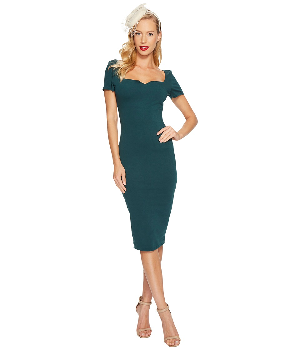Unique Vintage - Harris Knit Wiggle Dress