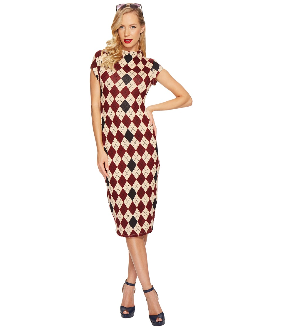 Unique Vintage - Holly Wiggle Dress