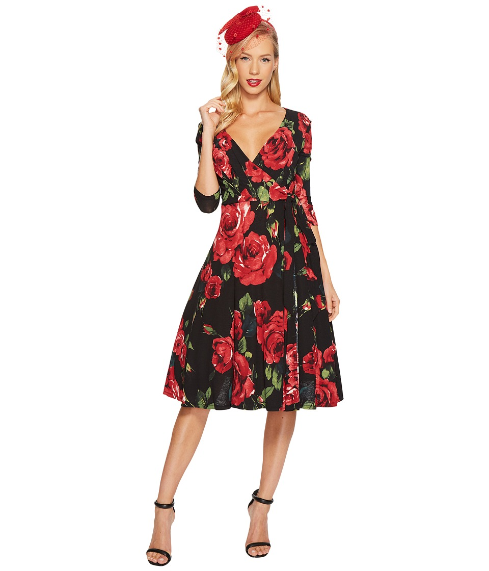 Unique Vintage - Kelsie Wrap Dress