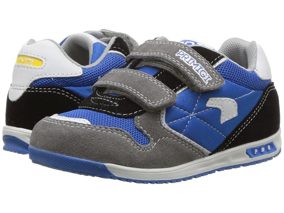 Primigi Kids - PBJ 14482 (Toddler) (Grey/Royal) Boys Shoes