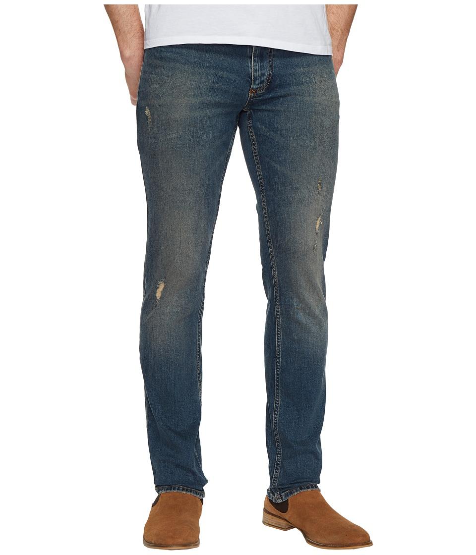 Calvin Klein Jeans Slim Destructed Jeans in Folly Blue (Folly Blue) Men