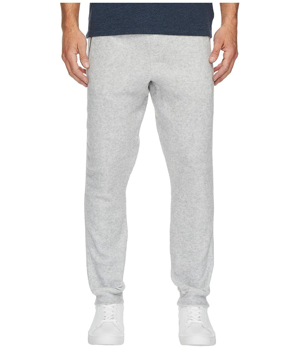 Calvin Klein Jeans Brushed Cozy Sweatpants (Silver Stone Heather) Men