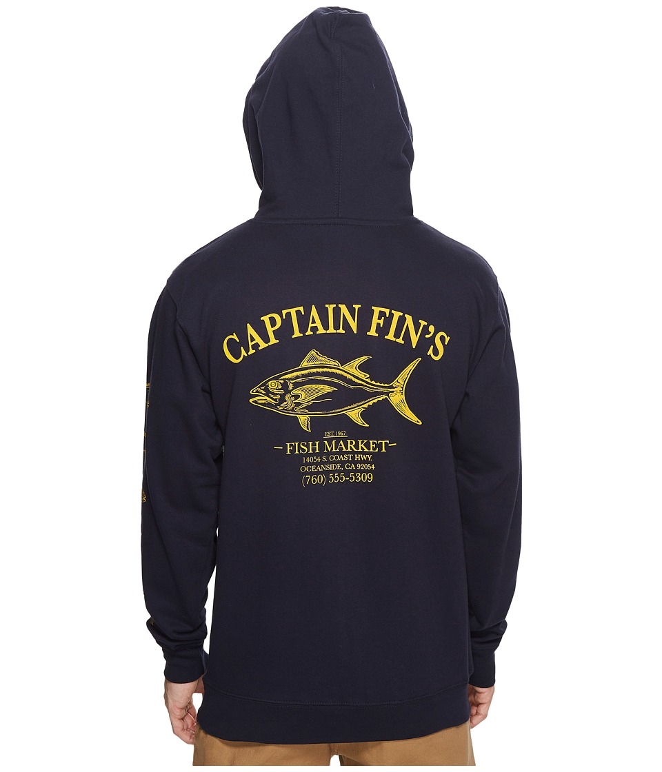 Captain Fin - Fish Market Hoodie