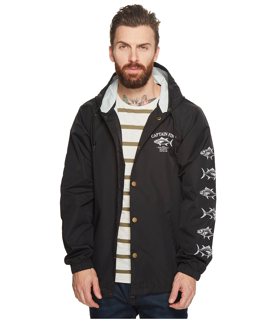 Captain Fin - Fish Market Hood Coach Jacket