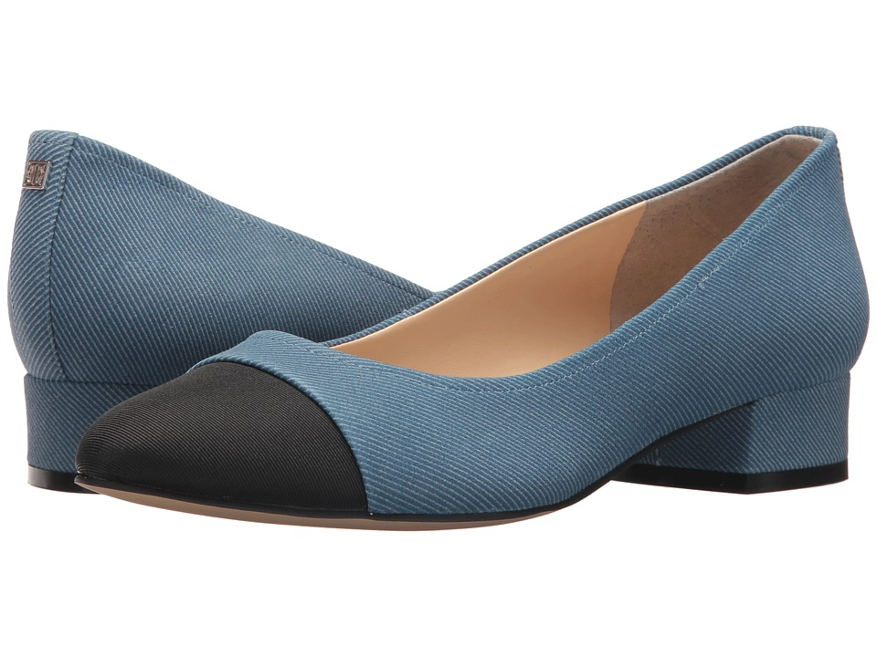 Ivanka Trump Larrie (Blue Multi) Women's Dress Flat Shoes