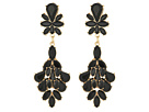 GUESS Cluster Stone Statement Drop Earrings