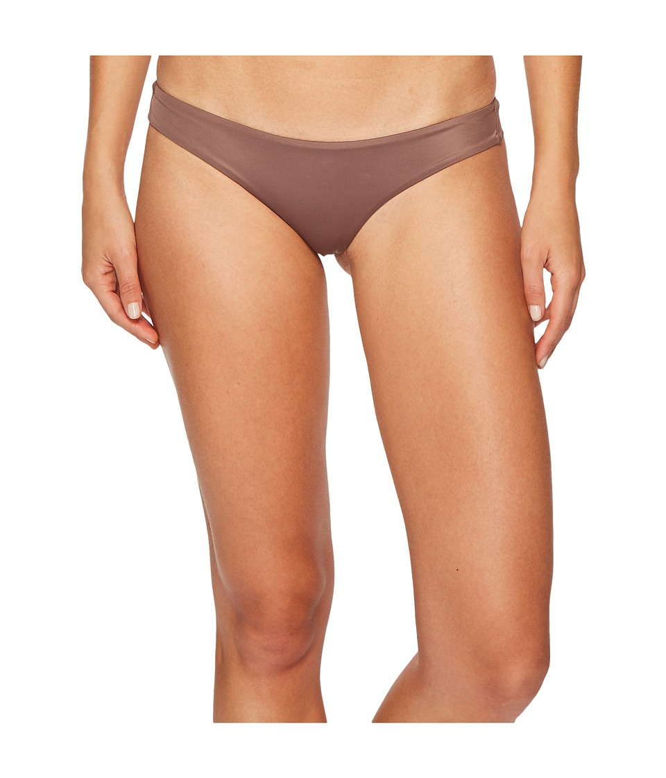 RVCA Solid Cheeky Bottom (Raisin)