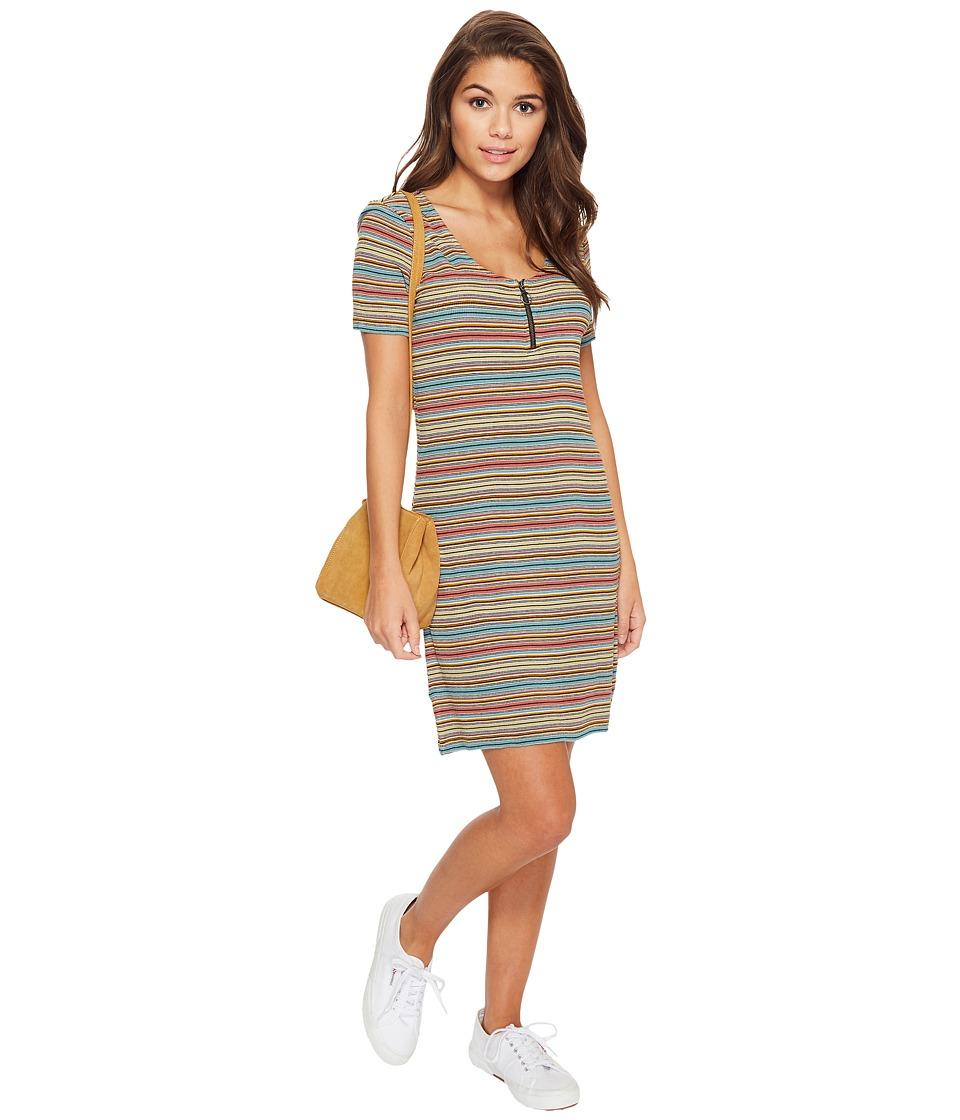 RVCA - Zip It Dress (Multi) Womens Dress