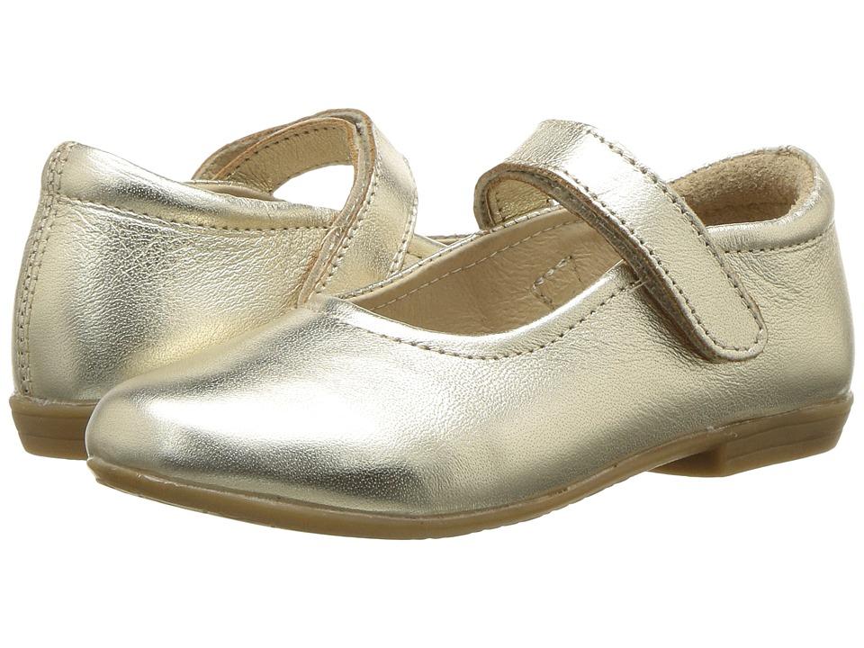 Image of Old Soles - Brule Sista (Toddler/Little Kid) (Gold) Girl's Shoes