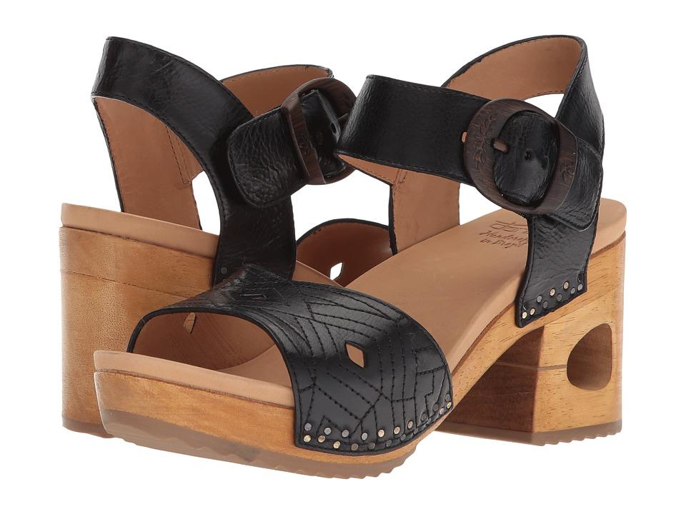 Dansko Odele (Black Tumbled Calf) Women's Clog/Mule Shoes