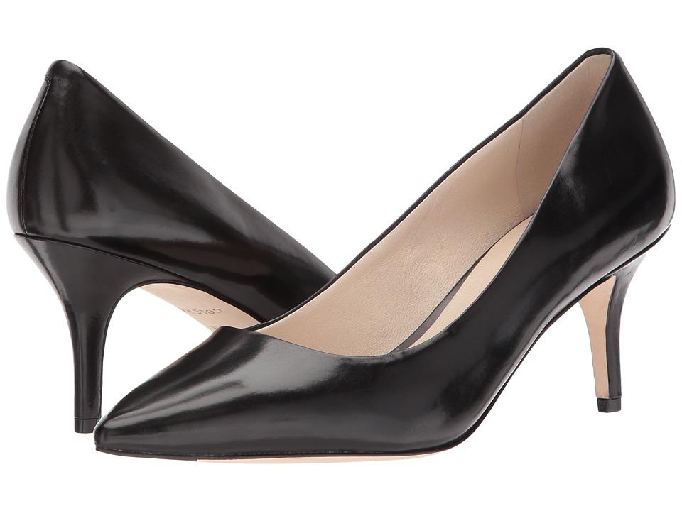 Cole Haan Vesta Pump 65mm (Black Leather) Women's Shoes