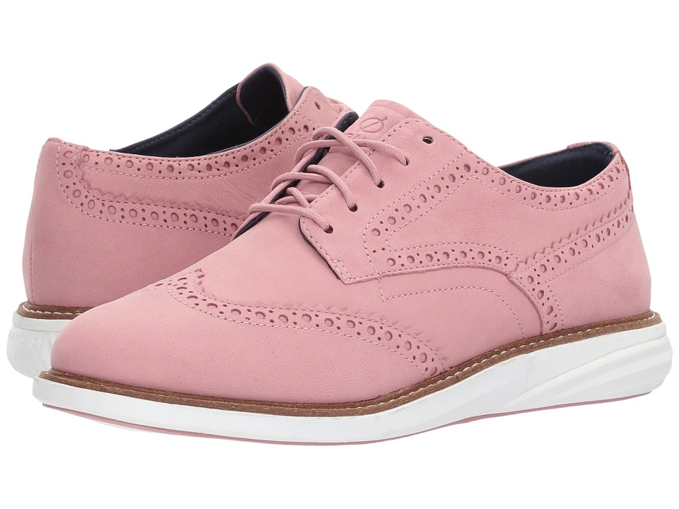 Cole Haan Grand Evolution Wing Oxford (Lilac Pink Nubuck) Women