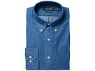 LAUREN Ralph Lauren LAUREN Ralph Lauren - Classic Fit Indigo Cotton Dress Shirt