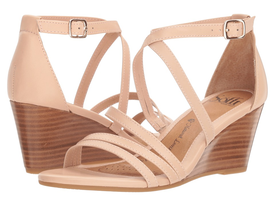 Sofft Mecina (Blush Cow Quilin) Sandals