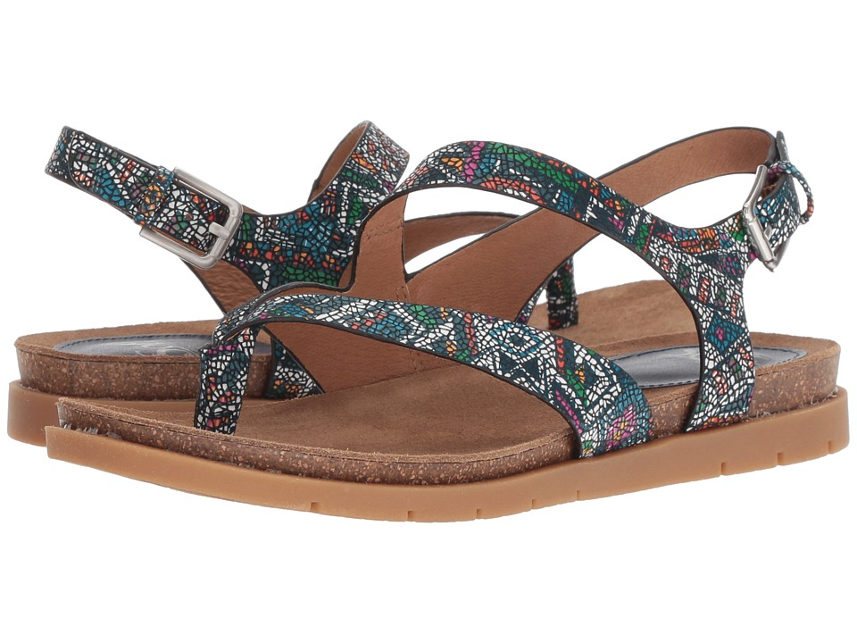 Sofft Rory (Blue Multi Tribal Print) Women's Shoes