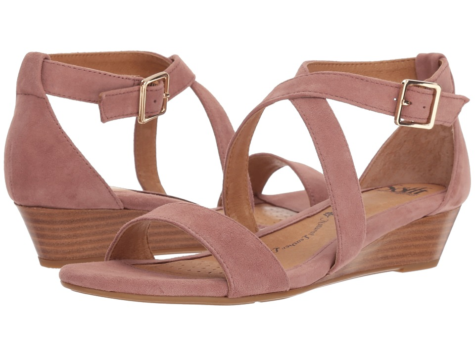 Sofft Innis (Mulberry Suede) Wedges