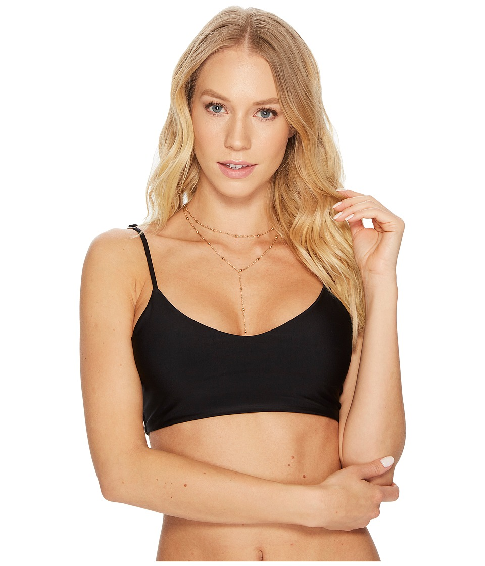 MIKOH SWIMWEAR Capri Top (Night)