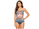 JETS by Jessika Allen Spectrum Bandeau One-Piece