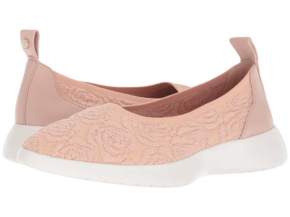 Taryn Rose - Daisy (Blush Knit) Womens Slip on  Shoes