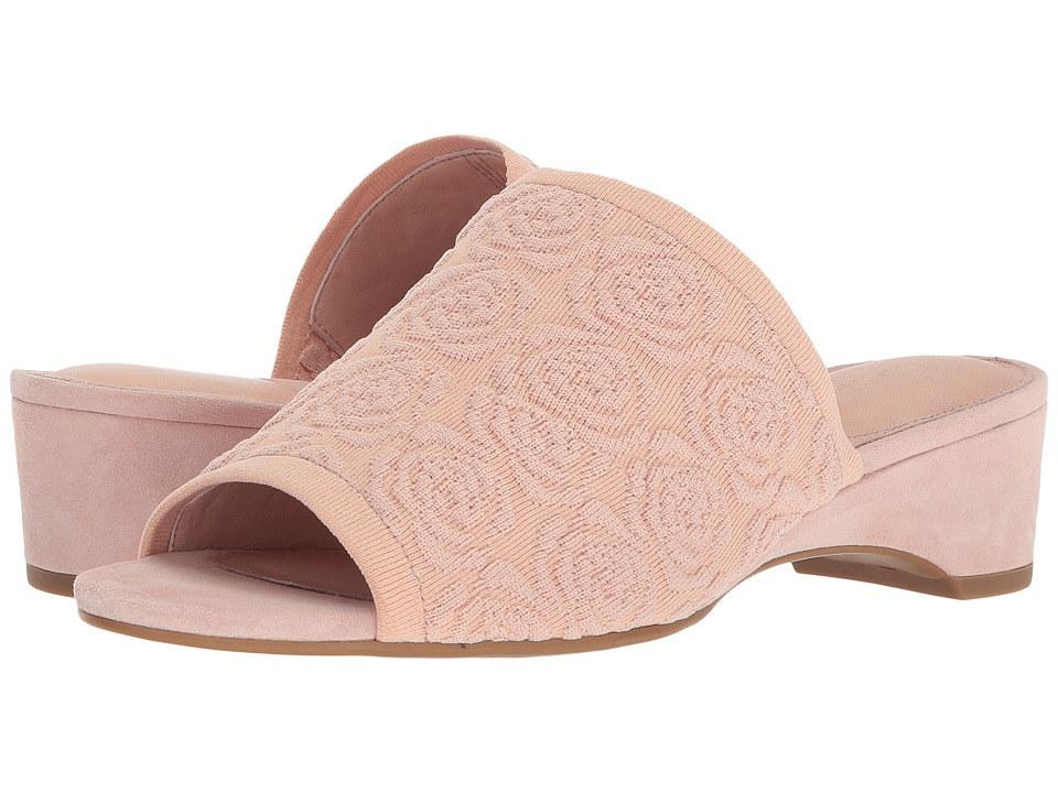 Taryn Rose - Nancy (Blush Knit) Womens Slide Shoes