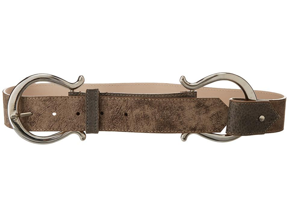 Leatherock - Zaira Belt (Grey) Womens Belts