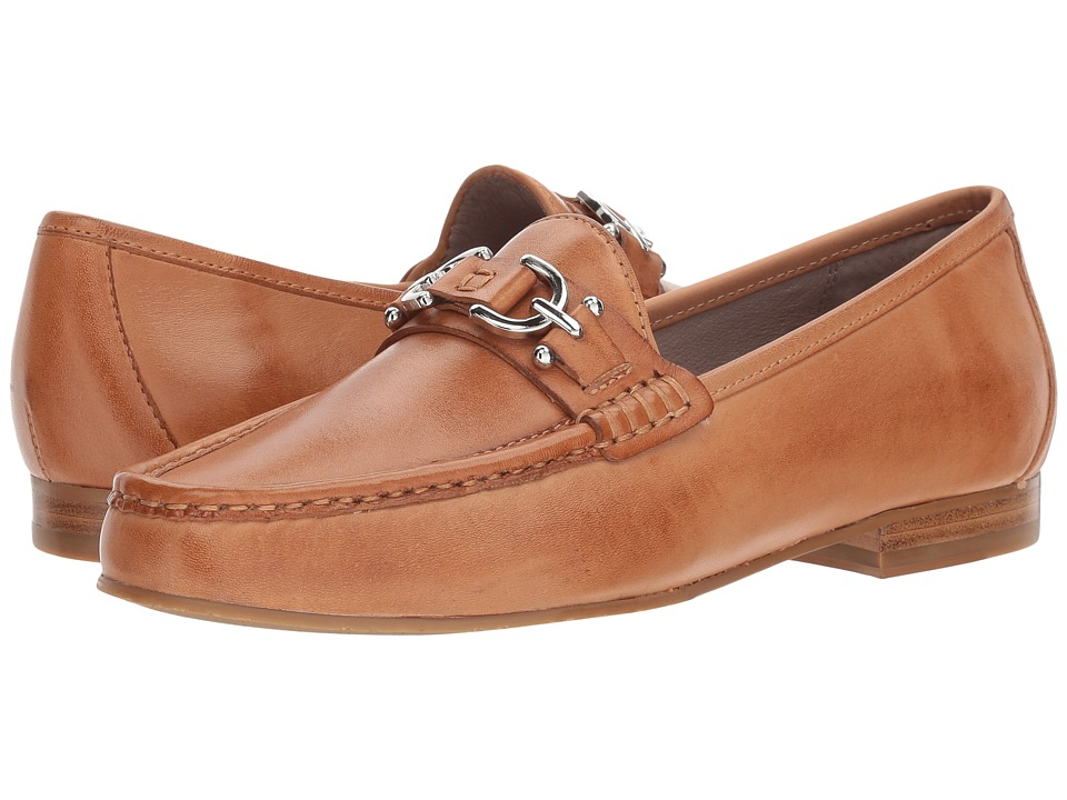 Donald J Pliner Suzy (Fawn Burnished Calf Leather) Women