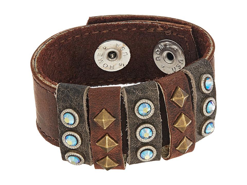 Leatherock Chelsea Bracelet (Black Walnut) Bracelet
