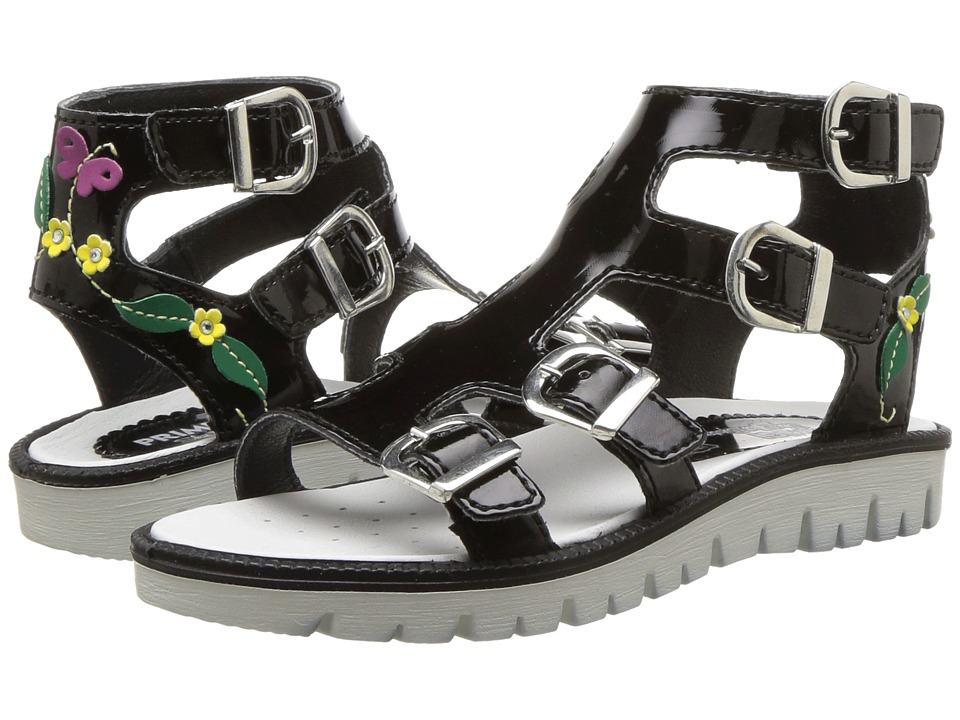 Primigi Kids - PAX 13822 (Little Kid) (Black) Girls Shoes