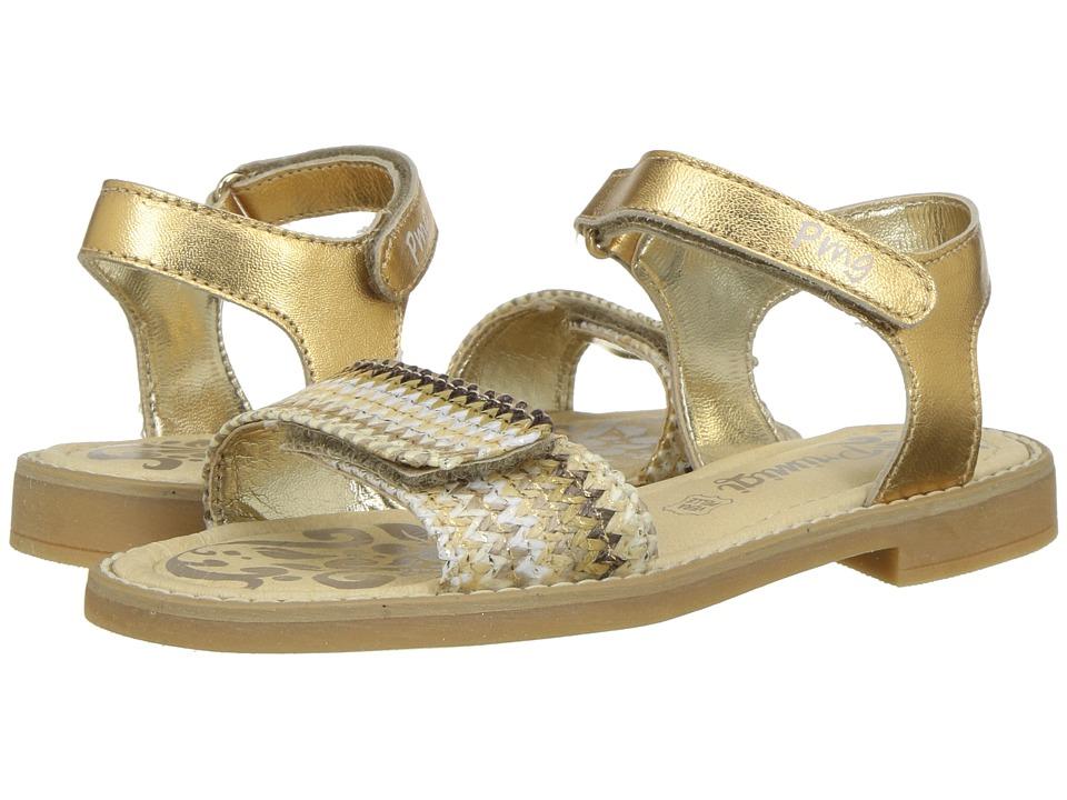 Primigi Kids - PFD 14396 (Little Kid) (Gold) Girls Shoes
